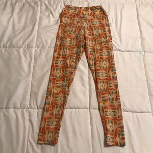 LuLaRoe Bottoms - GUC LuLaRoe Tween Leggings